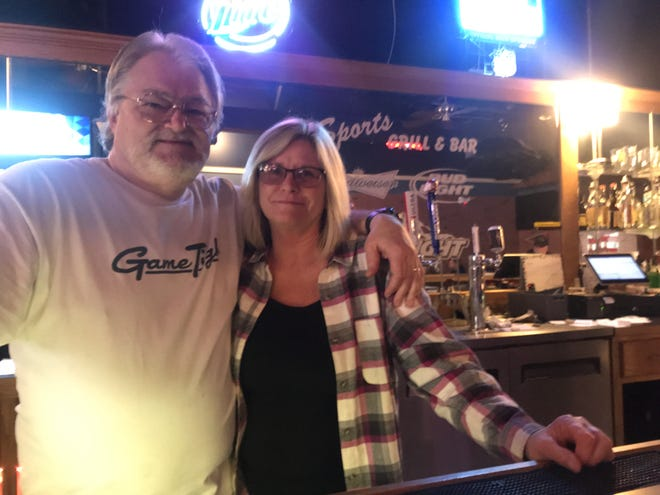 """Skip and Lisa Connor have opened """"The Chill Sports Bar and Grill"""" at the Chisholm Trail Retail and Outlet Shops, reopening a sports bar that has been shuttered for nearly 10 years."""