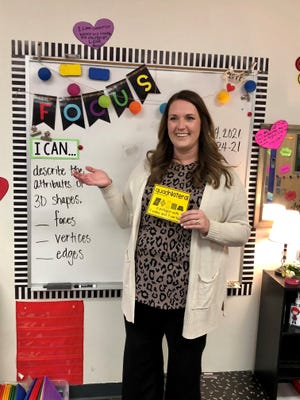 Hollie Hendrix, third-grade teacher at Lubbock-Cooper West Elementary School in Lubbock-Cooper ISD, is one of two recipients of the Lubbock Christian University Award for Excellence in Teaching.