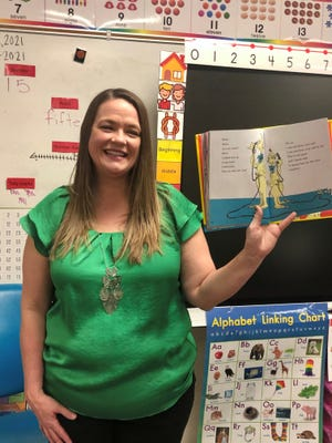Jenny Rosetta, kindergarten teacher at Centennial Elementary School in Lubbock ISD, is one of two recipients of the Lubbock Christian University Award for Excellence in Teaching.