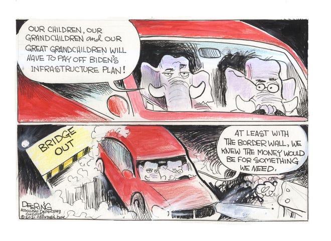 Today's editorial cartoon (April 18, 2021)