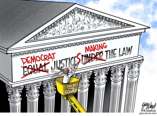 Today's editorial cartoon (April 17, 2021)