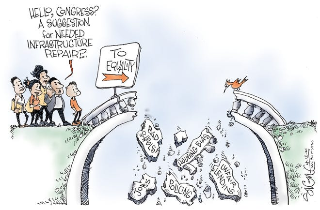 "CARTOON: Another ""infrastructure"" that needs work..."
