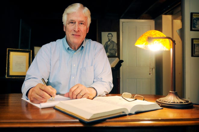 Richard Enders worked as a lawyer in an office on West Park Row in Clinton (see 2012 photo) until he retired in 2014.  Enders died at home on Thursday, April 15, 2021.