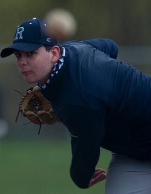 Mason Bartholomy pitches for Rootstown.