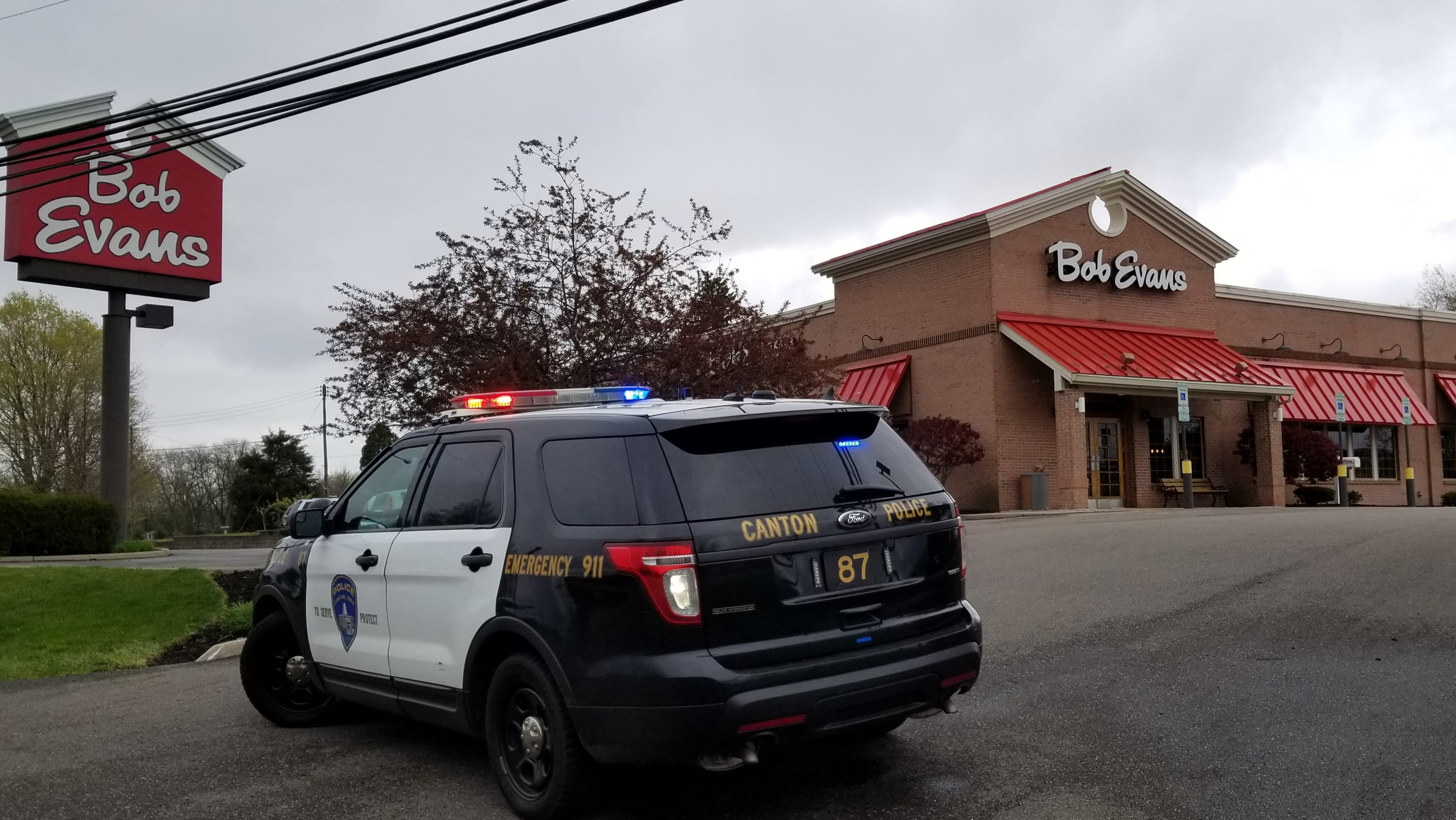 Suspect in Canton shooting death of Bob Evans waitress in police custody