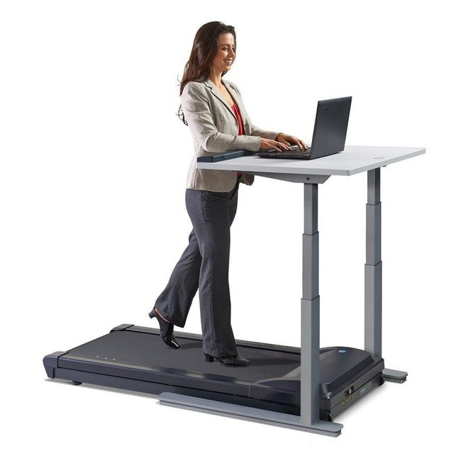 The Kewanee Park District on Thursday approved several expenditures suggested by the new director, including two treadmill desks like this one at a cost of more than $3,000.