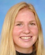 Bromfield girls' swimming all-star Ella Church.