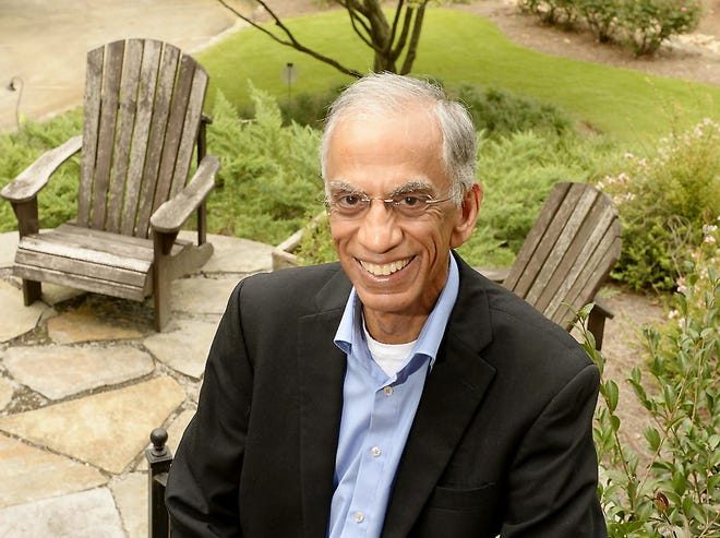 """Dr. Akil Taher is pictured in a file photo. Taher's new book, """"Open Heart,"""" details the transformation he made in his health after undergoing open heart surgery at 61 years old."""