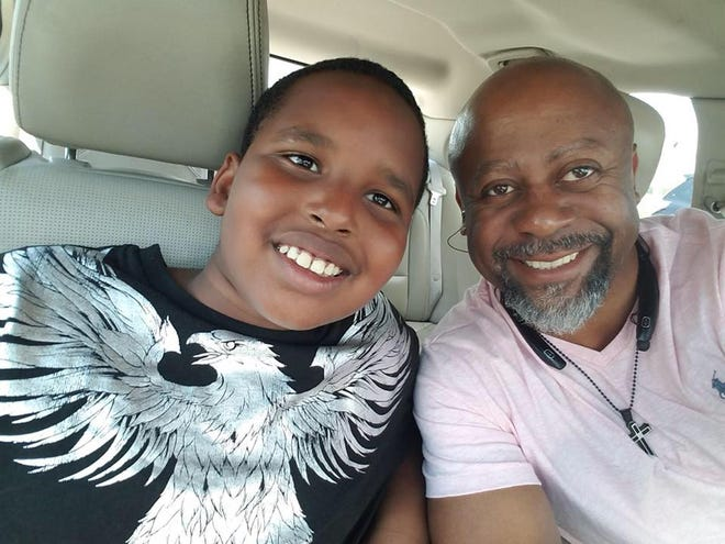 Tony Smith, right, admits he initially was unsure if, when paired with a child, he would be able to make an impact. But that feeling is long gone after being paired with Litchfield Middle School sixth-grader Antwon Benson since 2018.