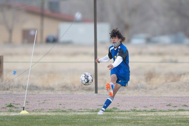 Dolores Huerta Prep boys soccer host Ellicott.