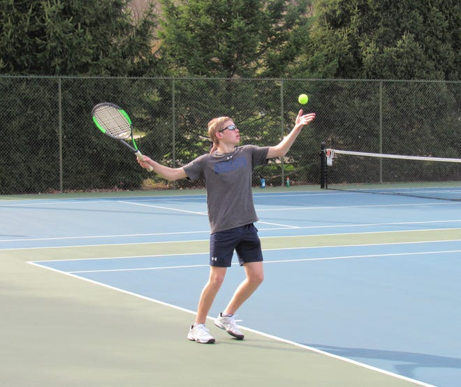 Connor Hayes has been a key contributor for the Grandview Heights boys tennis team, which was 7-1 overall and 3-1 in the MSL-Ohio before playing Bexley on April 22.