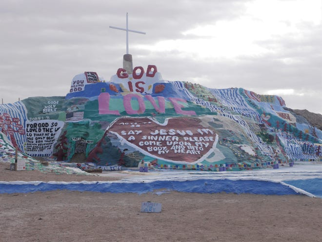 Salvation Mountain at Slab City.