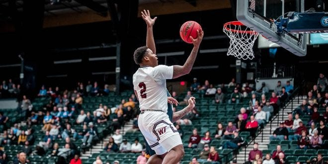 Waxahachie graduate Qua Grant (2) has transferred from NCAA Division II West Texas A&M to Division I Wichita State, where he will have two years of eligibility remaining. Grant led WT to three straight trips to the Division II Elite Eight and was twice named a first-team All-American.