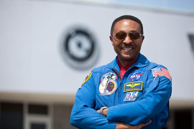 Two-time shuttle astronaut Winston Scott currently serves as a Special Assistant to the President at Florida Institute of Technology.
