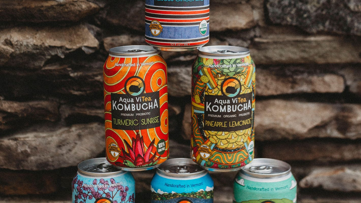 What do you do when COVID kills your kombucha keg business? Switch to cans