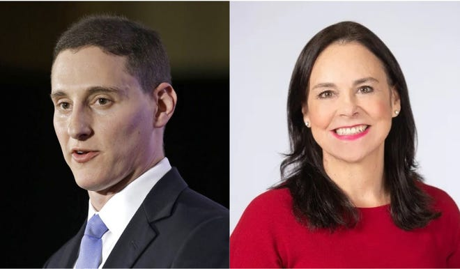 Former Ohio treasurer Josh Mandel and former Ohio Republican Party leader Jane Timken are running to be the Republican nominee for Ohio's 2022 U.S. Senate seat.
