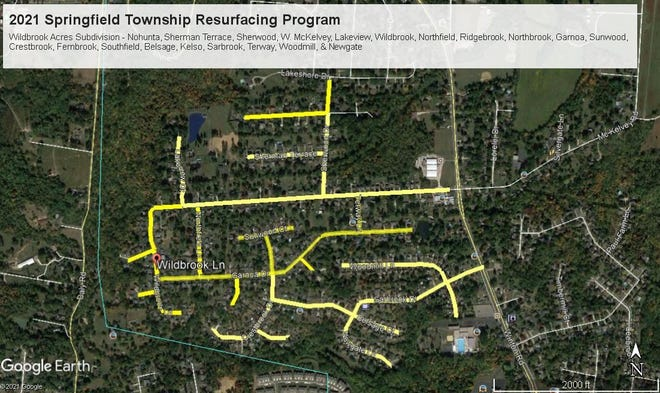 Springfield Township Board of Trustees have approved a more than $3 million roadway restoration project, the largest in township history.