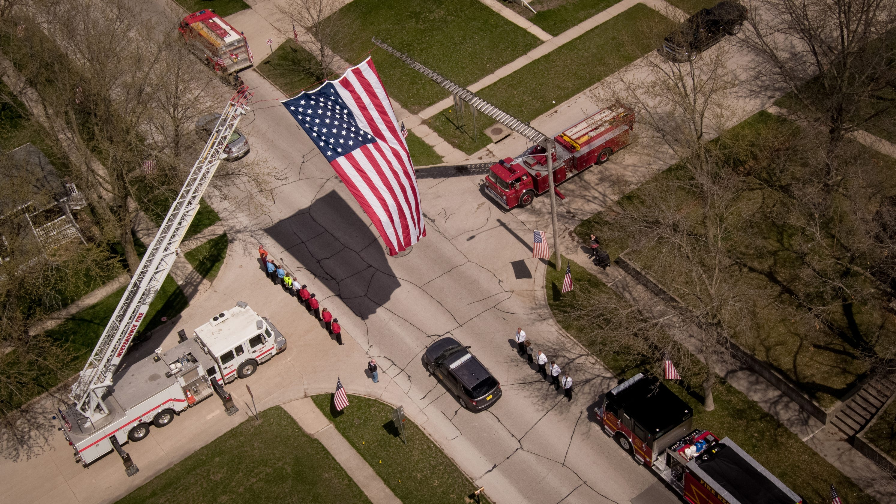 Fallen State Patrol Sgt. Jim Smith eulogized as a man of integrity, faith and goofy humor