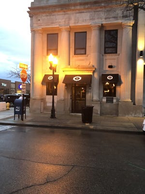 The Vault restaurant is the newest eatery in Wyandotte. It's located in an old bank building.