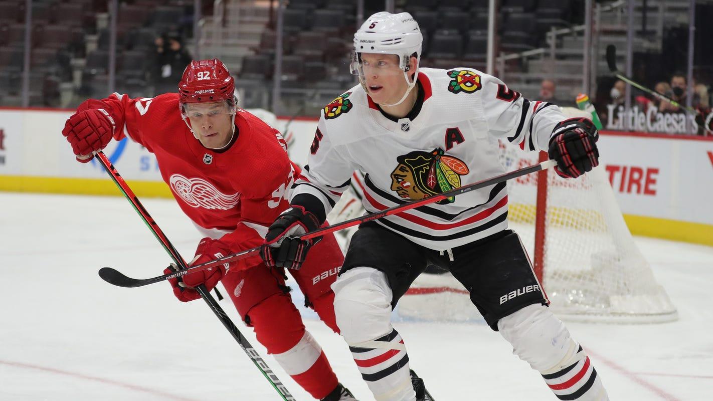 Detroit Red Wings game score vs. Chicago Blackhawks: Live scoring updates