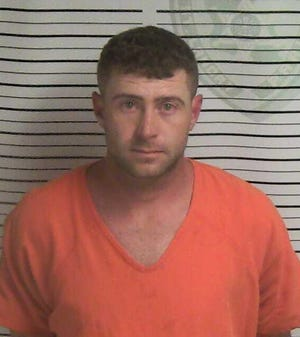 Allen Daniel Andrus, 32, was charged with exploitation of the infirm after allegedly spending $33,829 of 62 year-old woman's money who he was a caretaker for, according to the St. Landry Parish Sheriff's Office.