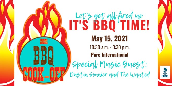 The first Acadiana BBQ Cook-Off is a month away and encouraging local pitmasters to try their hand at one or all of our three categories:chicken, ribs and people's choice.