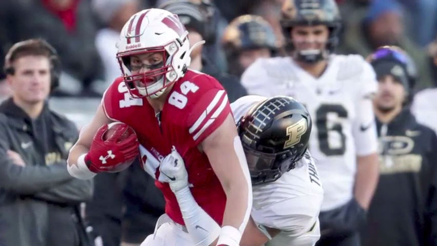 Badgers hoping Eschenbach can fill void at tight end