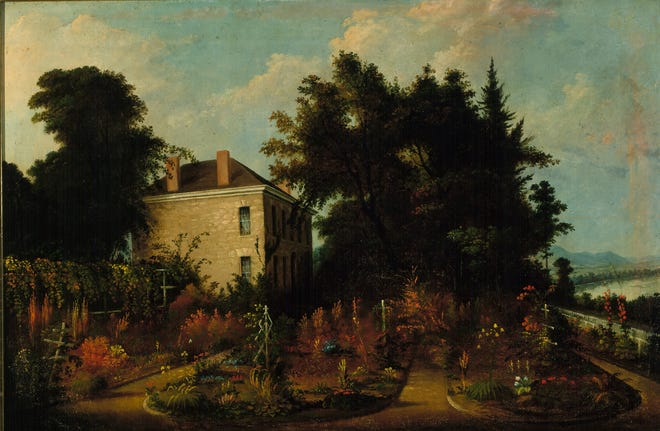Sala Bosworth hailed from Marietta, Ohio and was known for painting landscapes and portraits from 1827-1890.