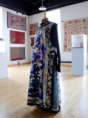 """The new art gallery exhibition titled """"The Art of World Textiles"""" will be on display from April 15 through July second."""