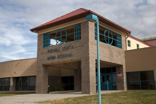 Piedra Vista High School is pictured on Tuesday, Nov. 7, 2017, in Farmington.
