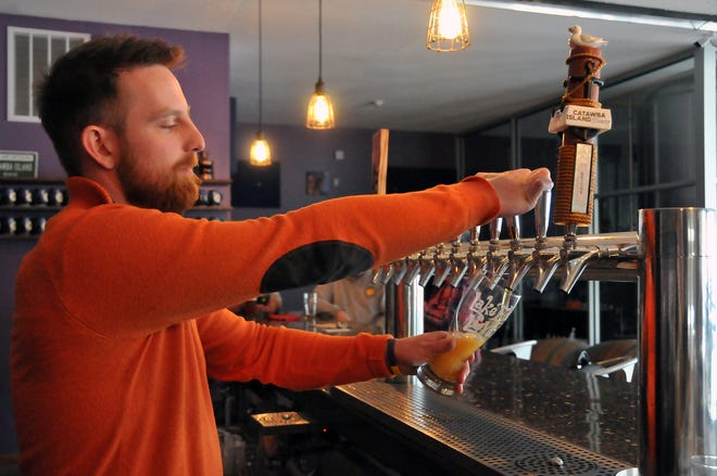 Over the last few years, Catawba Island Brewing Co. founder Mike Roder explained that they have been producing the same beers at maximum capacity based on their current demand, but now with more space, they have the room for some experimentation again.