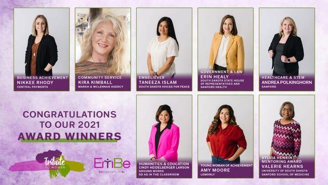 2021 Embe Tribute to Women winners