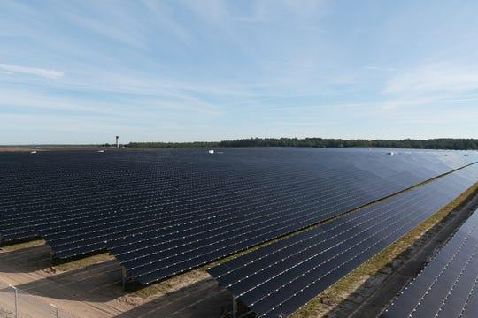Tallahassee City Airport Solar Farm.