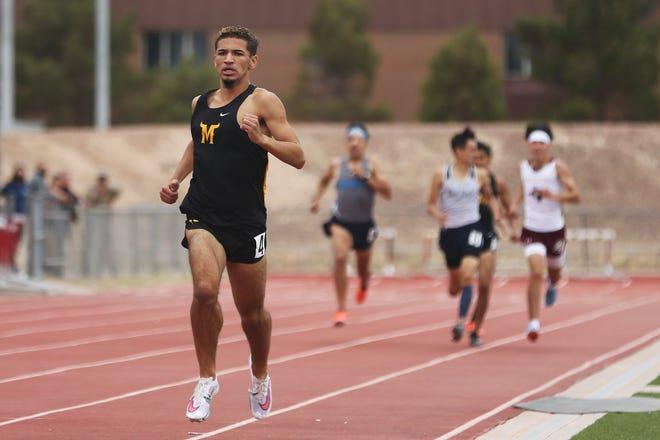 Class 5A area track meet Friday, April 16, at Hanks High School in El Paso.