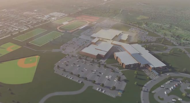 """This is a still shot from Wichita Falls ISD's video released Thursday, """"Bond 2021 Creating a vision for the future."""""""