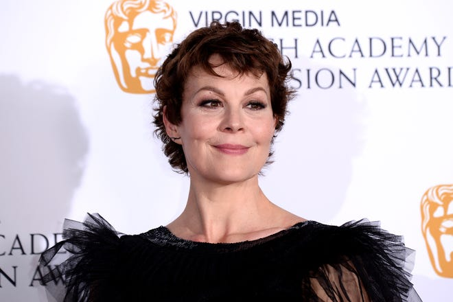 Actress Actor Helen McCrory, 52, has died after battling with cancer. Here, she poses in the Press Room at the Virgin TV BAFTA Television Award at The Royal Festival Hall on May 12, 2019 in London, England.