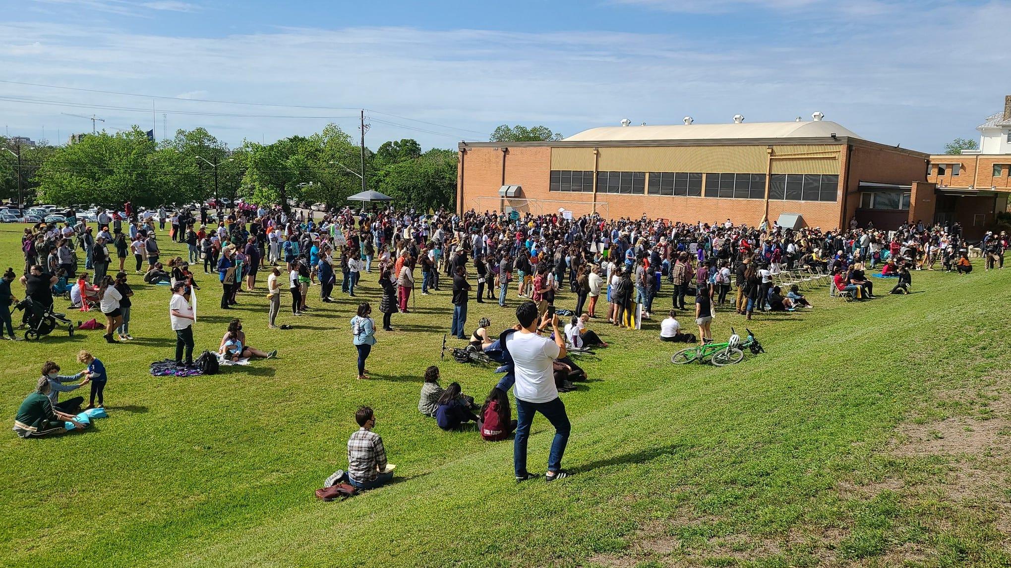 www.statesman.com: Hundreds rally against anti-Asian hate at Huston-Tillotson