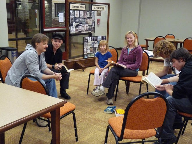 Members of the Westbank Community Library District's Shakespeare Out Loud book club often spend several months discussing one play. The group used to meet in person, but is now meeting virtually.