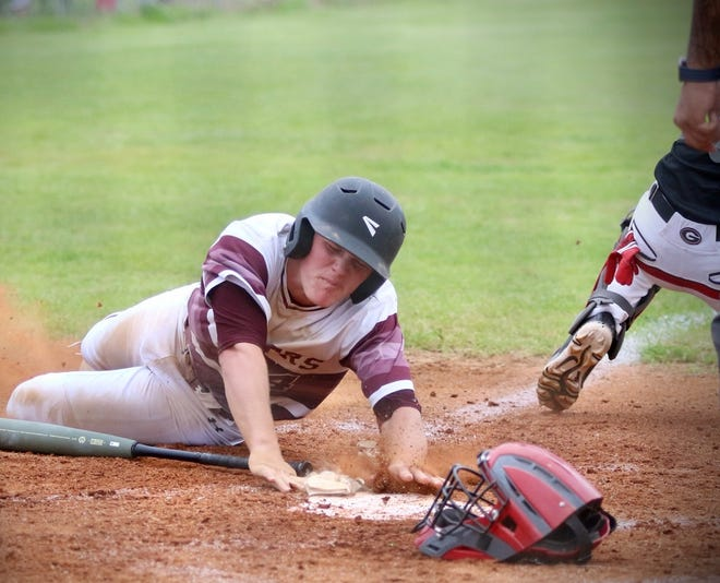 It was a great day for Merryville's Causey Owen in the Panthers' victory over Gueydan on Thursday. He had two hits, three runs scored and five RBIs offensively, while pitching five innings of one-hit baseball.