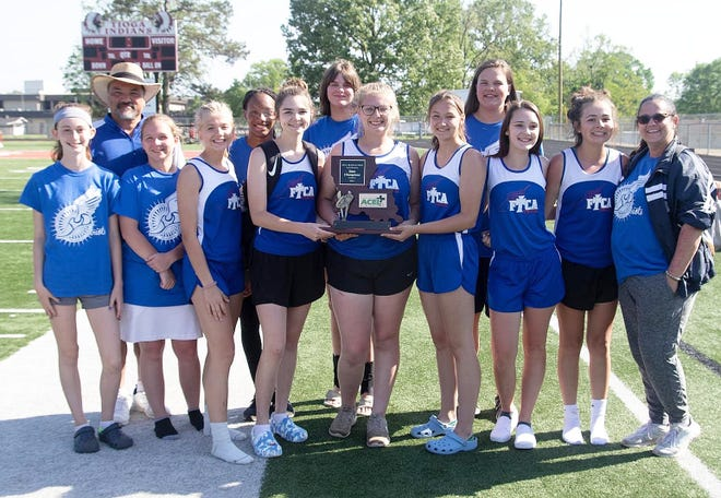 FTCA took state at the ACEL Track and Field Championship.
