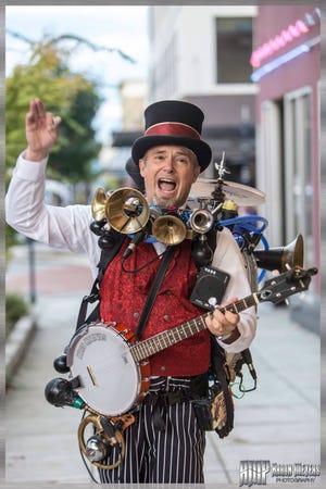 Eric, The One Man, se verá alrededor del Street Fest 2021.