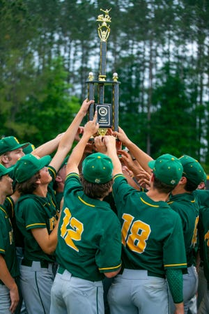 The Forest Wildcats defeated the Dunnellon Tigers, 17-2, to win the MCIAC title on Friday night at Dunnellon.