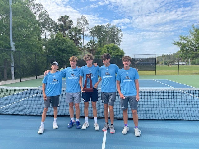 Ponte Vedra's boys tennis squad begins the FHSAA Class 3A championships on Monday.