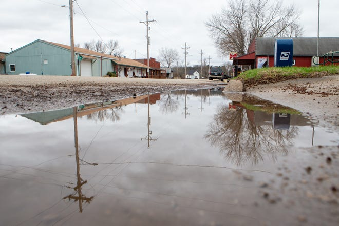 When it rains in rural Paxico, water pools near the town's roadways for days following a storm. But the town of 280 may soon be able to address that with a little outside help.