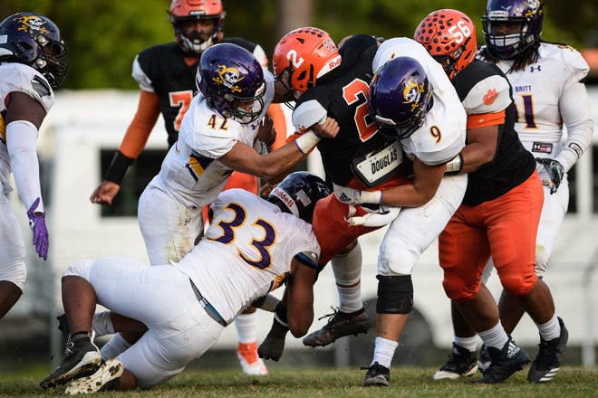 Jack Britt and South View will be a part of the United 8 Athletic Conference in the fall. The NCHSAA's latest realignment plan runs through 2025.