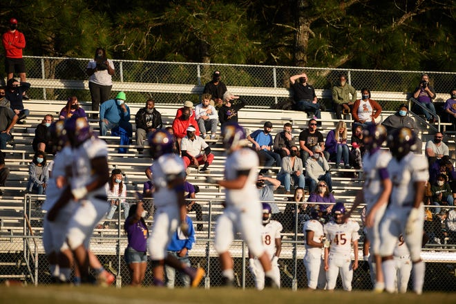 The Jack Britt football team will not play in the Cumberland County Football Jamboree due to COVID-19 protocols.