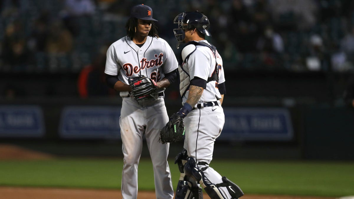 Montas leads A's to 6th straight win, 3-0 over Tigers 1