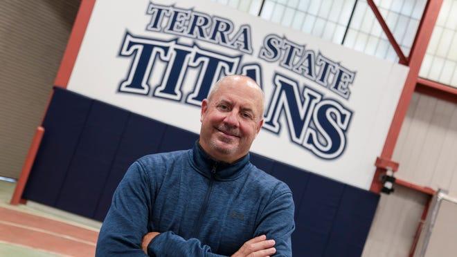 Terra State baseball coach Gregg Hedden
