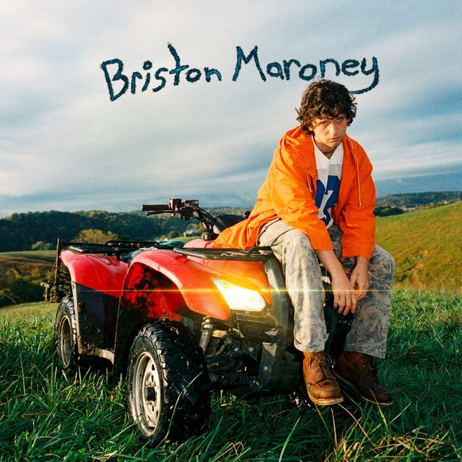 "Briston Maroney released his debut album ""Sunflower"" on April 9."