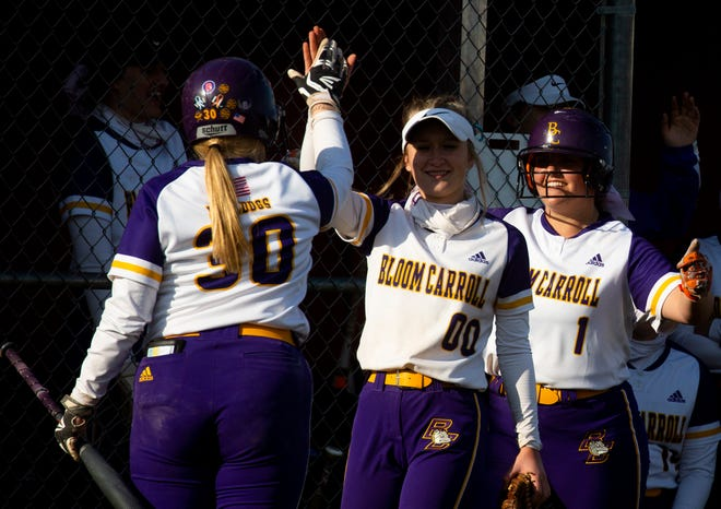The Bloom-Carroll softball team has an impressive 16-2 overall record and were rewarded on Sunday when they earned the No. 2 seed at the Division II Central District tournament draw.
